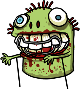 Herman the Oral Hygiene Zombie